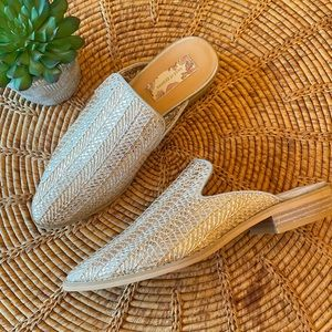 "🆕{Band Of Gypsies} ""Skipper"" Woven Mules"